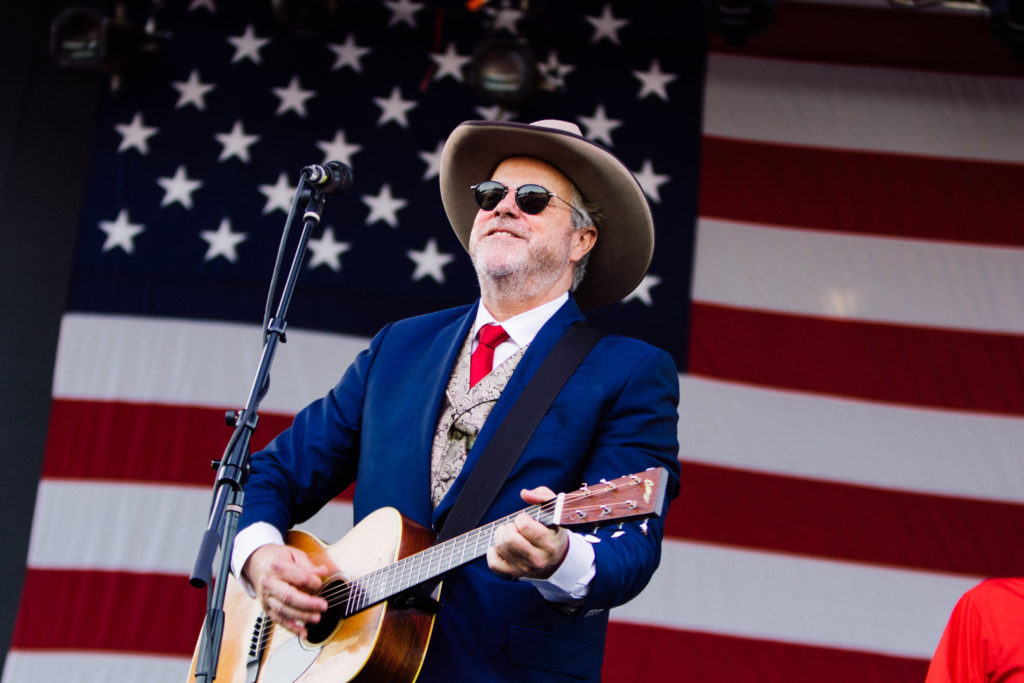 Photo of Robert Earl Keen at the Fourth on the River concert in Kerrville, Texas.